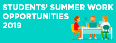 Students Summer Work Opportunities 2017